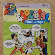 Tebeos: ZIPI Y ZAPE ESPECIAL AÑO XIV Nº 164 Nº264 ROCK A TOPE AÑO 1986 BRUGUERA. Lote 54589322