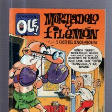 Tebeos: TEBEO MORTADELO Y FILEMON. M.242. COLECCION OLE!. EL CASO DEL SEÑOR PROBETA. Lote 54645191