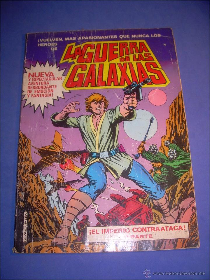 COMIC LA GUERRA DE LAS GALAXIAS. EL IMPERIO CONTRAATACA 1 PARTE. BRUGUERA 1979. 1ª EDICIÓN (Tebeos y Comics - Bruguera - Otros)