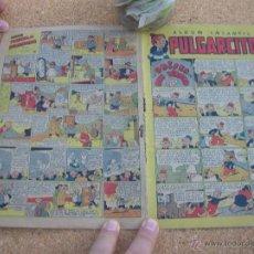 Tebeos: PULGARCITO BRUGUERA NUMERO 19 1947 BASTANTE BIEN CJ 1. Lote 54654455