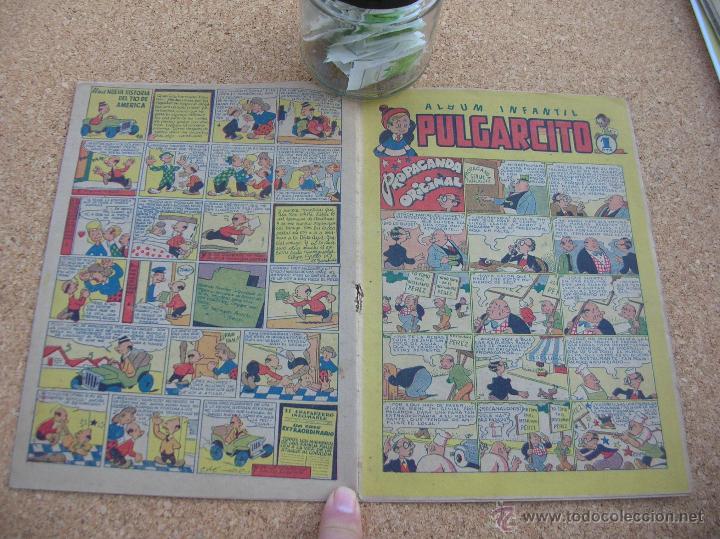 PULGARCITO BRUGUERA NUMERO 18 1947 BASTANTE BIEN CJ 1 (Tebeos y Comics - Bruguera - Pulgarcito)