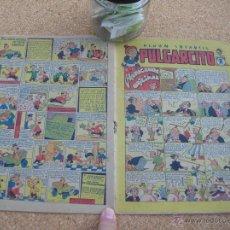 Tebeos: PULGARCITO BRUGUERA NUMERO 18 1947 BASTANTE BIEN CJ 1. Lote 54654669