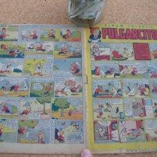 Tebeos: PULGARCITO BRUGUERA NUMERO 17 1947 BASTANTE BIEN CJ 1. Lote 54654702