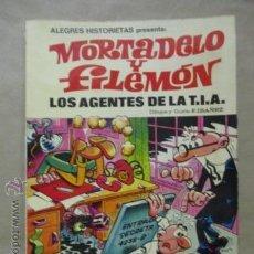 Tebeos: MORTADELO Y FILEMÓN - LOS AGENTES DE LA T.I.A. 1ª EDICIÓN 1981. Lote 54698845