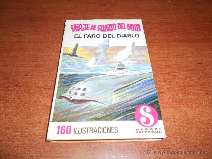 COLECCIÓN HÉROES SELECCIÓN: VIAJE AL FONDO DEL MAR Nº 1 BRUGUERA 1ª EDICIÓN 1968, EL FARO DEL DIABLO (Tebeos y Comics - Bruguera - Historias Selección)