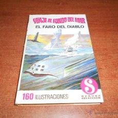 Tebeos: COLECCIÓN HÉROES SELECCIÓN: VIAJE AL FONDO DEL MAR Nº 1 BRUGUERA 1ª EDICIÓN 1968, EL FARO DEL DIABLO. Lote 54716894