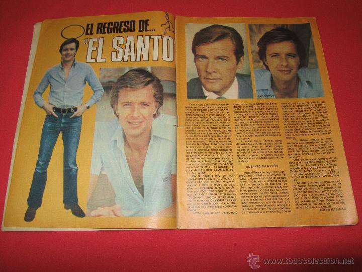 Tebeos: SUPER LILY 45 MIGUEL GALLARDO, CAMILO SESTO, EL SANTO, SHAUN CASSIDY, RICHARD HATCH, DUSTIN HOFFMAN, - Foto 3 - 54725718