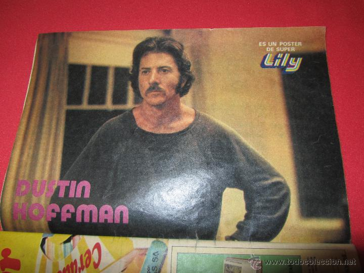 Tebeos: SUPER LILY 45 MIGUEL GALLARDO, CAMILO SESTO, EL SANTO, SHAUN CASSIDY, RICHARD HATCH, DUSTIN HOFFMAN, - Foto 7 - 54725718