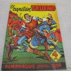 Tebeos: CAPITAN TRUENO ORIGINAL ALMANAQUE 1958. Lote 54742061