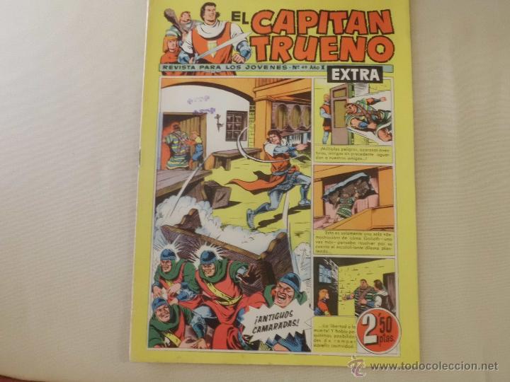 EL CAPITAN TRUENO EXTRA Nº 49 BRUGUERA (Tebeos y Comics - Bruguera - Capitán Trueno)