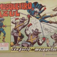 Livros de Banda Desenhada: EL MOSQUETERO AZUL Nº 20 BRUGUERA. Lote 54747173