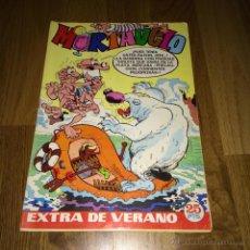 Tebeos: MORTADELO EXTRA VERANO 1972 CON CORSARIO HIERRO Y DINERO MORTADELO. BRUGUERA. 25 PTS. B.E.. Lote 54748033