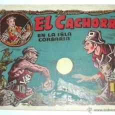 Tebeos: EL CACHORRO EN LA ISLA CORSARIA ABRIL 1955 ,ORIGINAL DE EPOCA. Lote 54750786