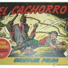 Tebeos: EL CACHORRO SINGULAR PELEA º 165 ,ORIGINAL DE EPOCA. Lote 54750812