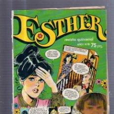 Livros de Banda Desenhada: TEBEO ESTHER. REVISTA QUINCENAL. AÑO I. Nº 8. Lote 54757019