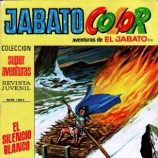 Tebeos: JABATO COLOR 1ª EPOCA Nº 212 DIFICIL, ÚLTIMO DE LA COLECCIÓN, MUY NUEVO. Lote 54773471