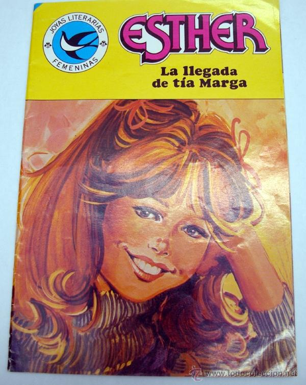 JOYAS LITERARIAS JUVENILES. ESTHER. SERIE AZUL. 103. LA LLEGADA DE TIA MARGA. BRUGUERA 1ª EDI. 1984 (Tebeos y Comics - Bruguera - Esther)