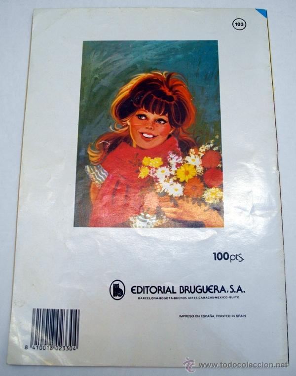 Tebeos: JOYAS LITERARIAS JUVENILES. ESTHER. SERIE AZUL. 103. LA LLEGADA DE TIA MARGA. BRUGUERA 1ª EDI. 1984 - Foto 2 - 54774109