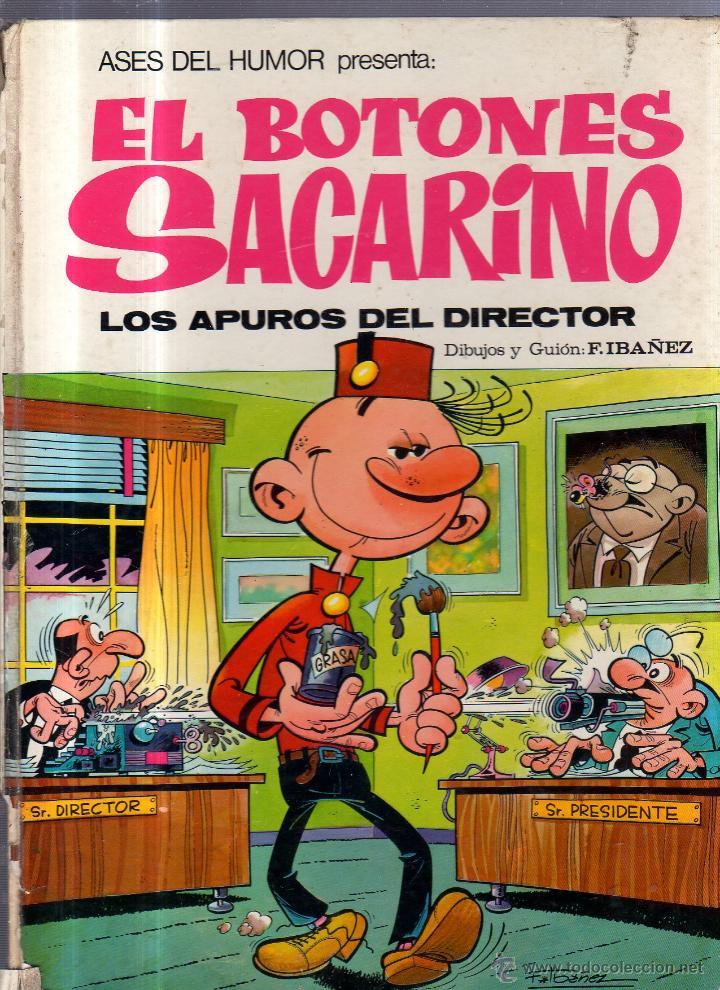 ASES DEL HUMOR. Nº 22. EL BOTONES SACARINO. LOS APUROS DEL DIRECTOR. 1973 (Tebeos y Comics - Bruguera - Otros)