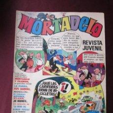 BDs: REVISTA MORTADELO AÑO II Nº 6 BRUGUERA 1971 TENIENTE BLUEBERRY, CORSARIO DE HIERRO, ASTERIX TEBENI. . Lote 54798787