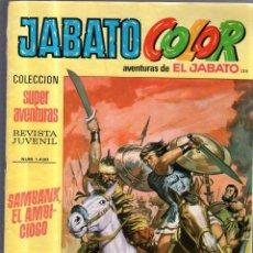 Tebeos: TEBEO JABATO COLOR. SUPERAVENTURAS. AÑO IV. Nº 125. SAMBANK EL AMBICIOSO. Lote 54800836