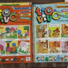 Tebeos: 5727- COMIC TIO VIVO. EDICIONES BRUGUERA. 1986. 24 EJEMPLARES.. Lote 48418601