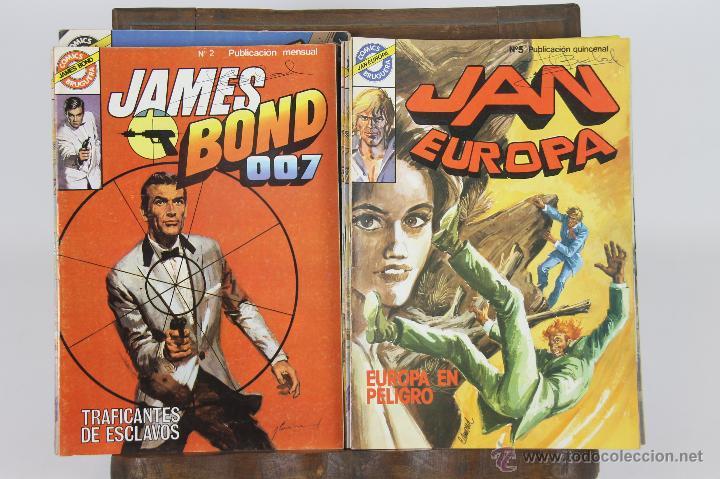 5743 - VARIOS COMICS. EDICIONES BRUGUERA. 1985. 39 EJEMPLARES. (Tebeos y Comics - Bruguera - Otros)