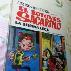 Tebeos: EL BOTONES SACARINO - LA OFICINA LOCA - ALEGRES HISTORIETAS. Lote 54851194