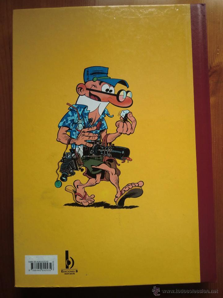 Tebeos: Tebeo SUPER HUMOR Volumen 31 (2001) Bruguera, Ediciones B. Mortadelo y Filemón. ¡Nuevo! - Foto 2 - 54864565