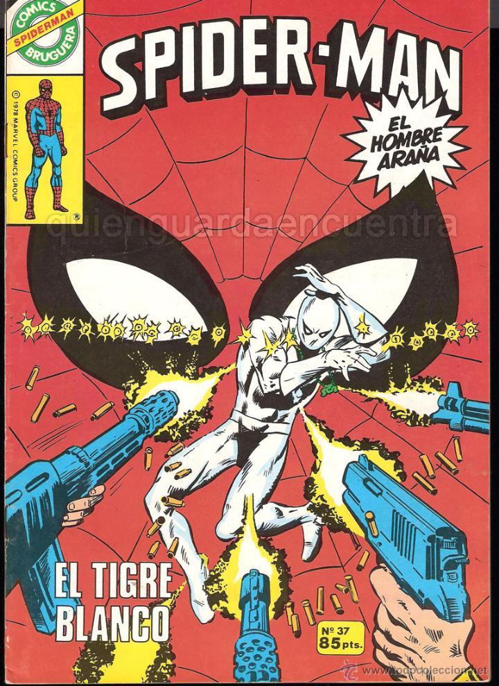 20 SPIDER-MAN SPIDERMAN-ARAÑA-20-21-23-26-29-30-31-32-34-37-38-40-47-50-53-55-56-65-69-70 NUEVO 1981 (Tebeos y Comics - Bruguera - Otros)