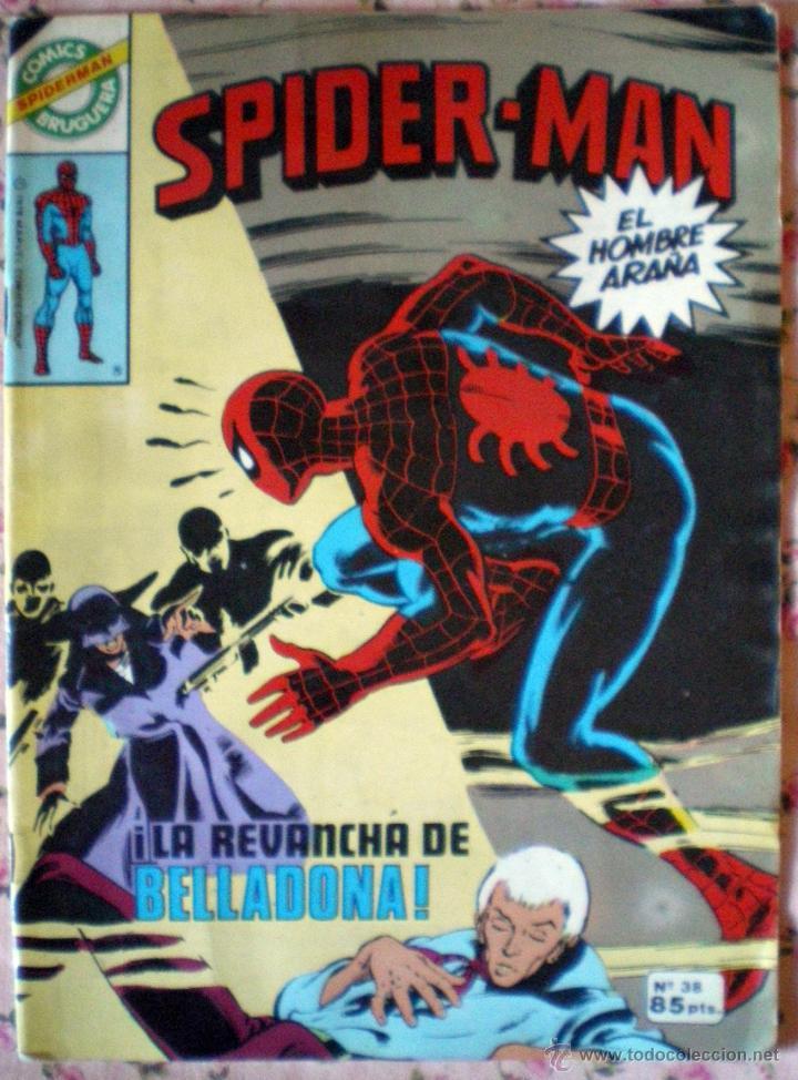 Tebeos: 20 Spider-Man Spiderman-Araña-20-21-23-26-29-30-31-32-34-37-38-40-47-50-53-55-56-65-69-70 Nuevo 1981 - Foto 2 - 54870084