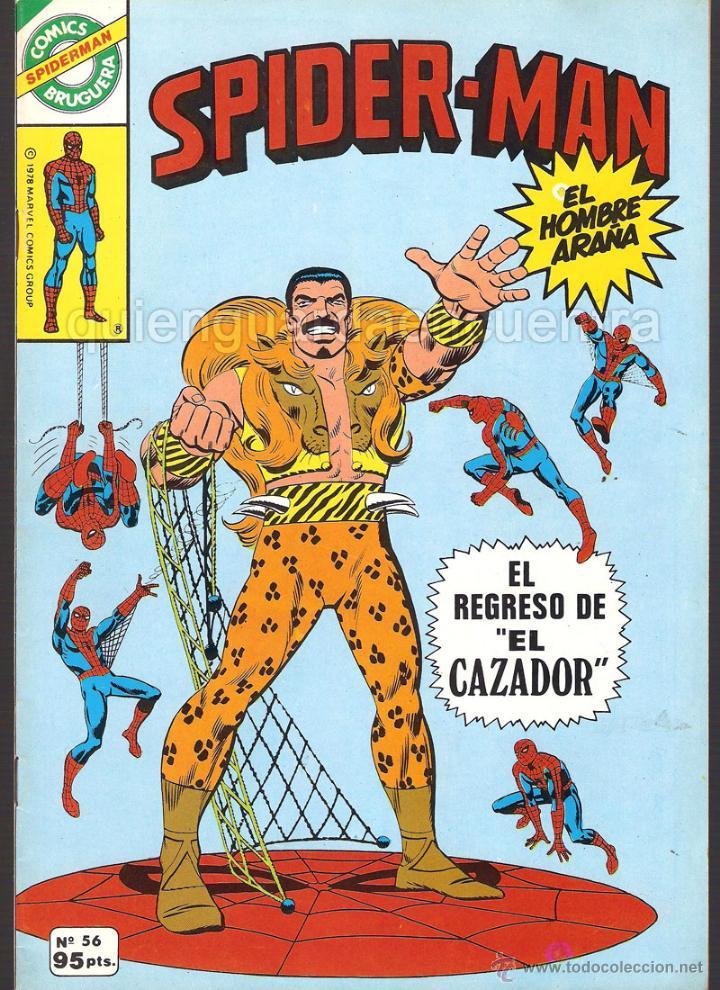 Tebeos: 20 Spider-Man Spiderman-Araña-20-21-23-26-29-30-31-32-34-37-38-40-47-50-53-55-56-65-69-70 Nuevo 1981 - Foto 3 - 54870084