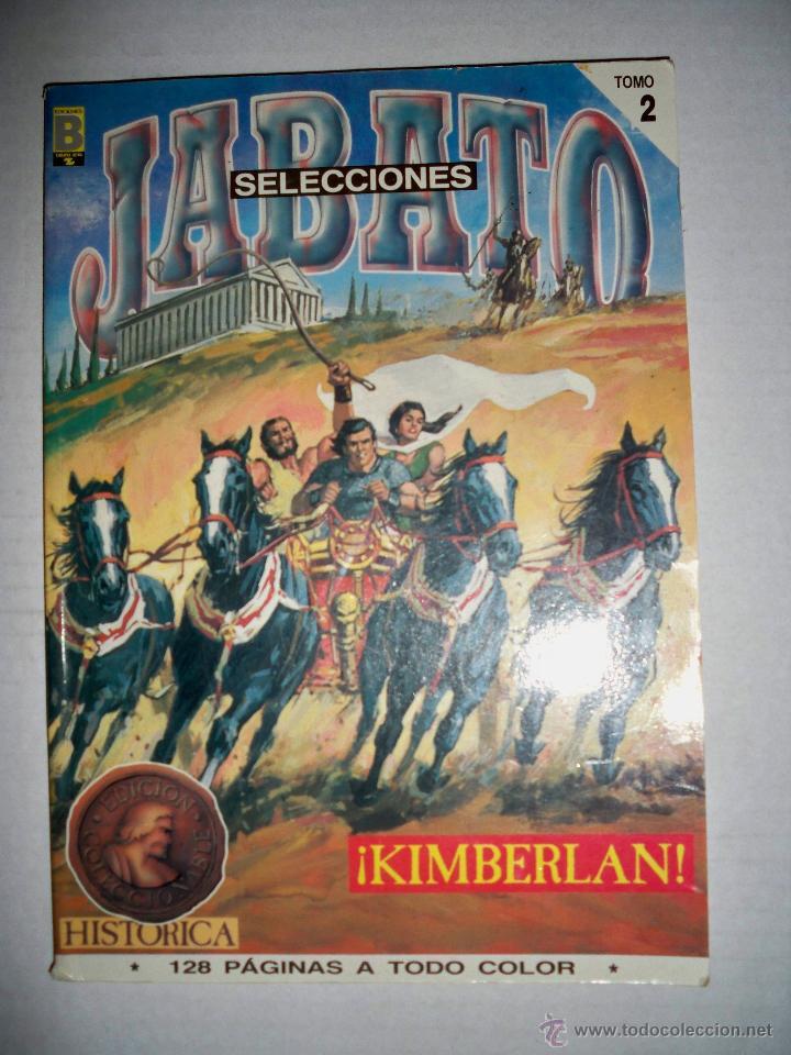 JABATO 2. SELECCION EDICIONES HISTORICAS. KIMBERLAN. EDICIONES B 87 (Tebeos y Comics - Bruguera - Jabato)