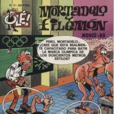 Tebeos: MORTADELO Y FILEMON OLE Nº 12 MOSCÚ 80.1ª ED. MAYO 1993 EDICIONES B TAPA RELIEVE. Lote 54956904