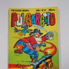 Tebeos: PULGARCITO - AÑO I. Nº 24. PUBLICACION INFANTIL. BRUGUERA. TDKC15. Lote 54979488