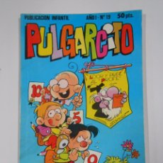 Tebeos: PULGARCITO - AÑO I. Nº 19. PUBLICACION INFANTIL. BRUGUERA. TDKC15. Lote 54980198