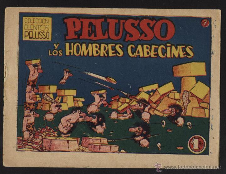 PELUSSO. COLECCIÓN CUENTOS, PELUSSO Y LOS HOMBRES CABECINES N º 7. (Tebeos y Comics - Bruguera - Cuadernillos Varios)