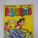 Tebeos: PULGARCITO - AÑO I. Nº 21. PUBLICACION INFANTIL. BRUGUERA. TDKC15. Lote 54981372