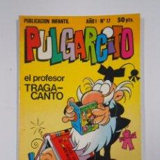 Tebeos: PULGARCITO - AÑO I. Nº 17. PUBLICACION INFANTIL. BRUGUERA. TDKC15. Lote 54981399