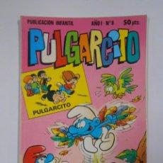 Tebeos: PULGARCITO - AÑO I. Nº 8. PUBLICACION INFANTIL. BRUGUERA. TDKC15. Lote 54981640