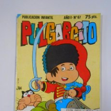 Tebeos: PULGARCITO - AÑO II - Nº 67. PUBLICACION INFANTIL. BRUGUERA - 1982. TDKC15. Lote 54981759