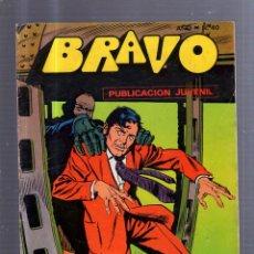 Tebeos: TEBEO BRAVO. AÑO I. Nº 40. PUBLICACION JUVENIL. Lote 55043608