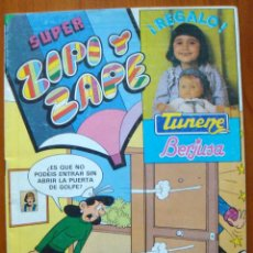 Tebeos: 3 COMIC SUPER ZIPI-ZAPE AÑO XI Nº 125 1982 CROMOS RECORTAR DE COMIC-Nº 152-153 AÑO XII 1983 BRUGUERA. Lote 55047283