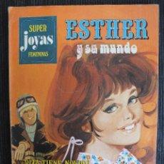 Tebeos: SUPER JOYAS FEMENINAS Nº 3 , ESTHER Y SU MUNDO , EDITORIAL BRUGUERA. Lote 55075231