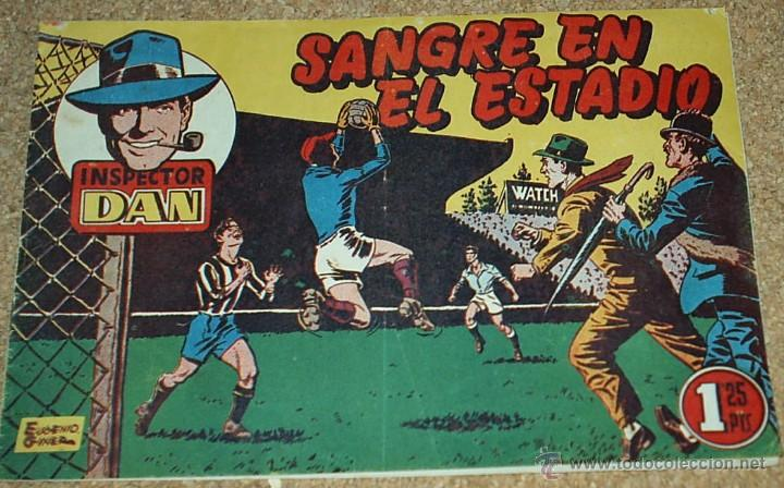 INSPECTOR DAN Nº 14 - BRUGUERA 1951 - ORIGINAL- LEER TODO (Tebeos y Comics - Bruguera - Inspector Dan)