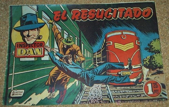 INSPECTOR DAN Nº 25 - BRUGUERA 1951 - ORIGINAL- LEER TODO (Tebeos y Comics - Bruguera - Inspector Dan)