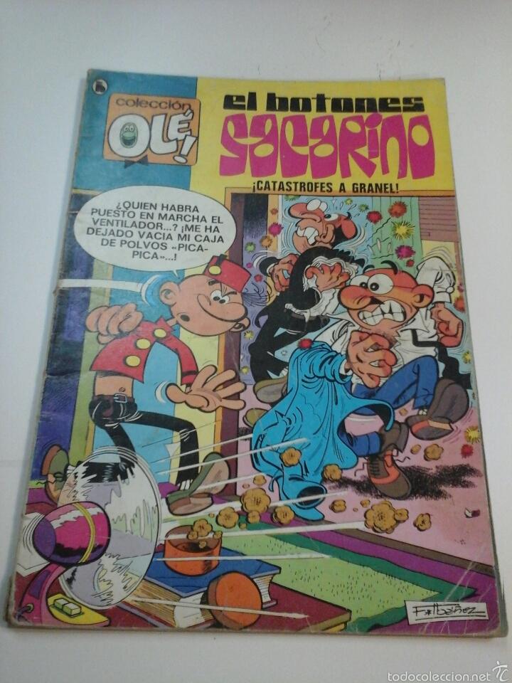 EL BOTONES SACARINO - N°80 - BRUGUERA (Tebeos y Comics - Bruguera - Ole)