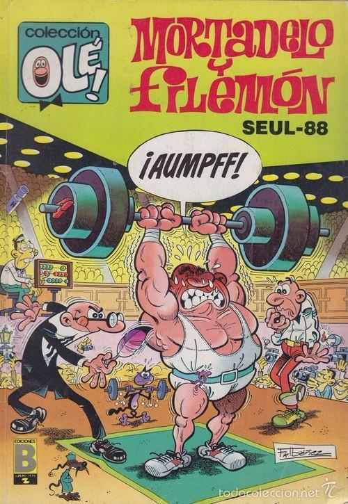 MORTADELO Y FILEMON SEUL-88 325-M.87 COLECCIÓN OLÉ (Tebeos y Comics - Bruguera - Ole)