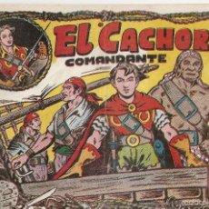 Tebeos: EL CACHORRO Nº 42, IRANZO. EDITORIAL BRUGUERA, ORIGINAL 1952. EL CACHORRO COMANDANTE. Lote 245426240