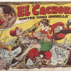 Tebeos: EL CACHORRO Nº 43, IRANZO. EDITORIAL BRUGUERA, ORIGINAL 1952. EL CACHORRO CONTRA MANO AMARILLA. Lote 55154309